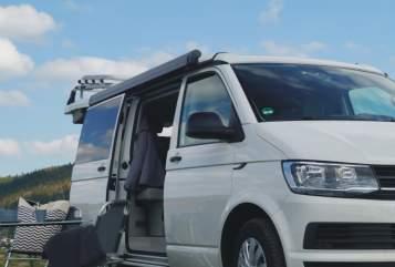Kampeerbus Volkswagen CaliforniaCoast in Gera huren van particulier