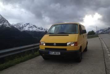 Kampeerbus VW Postkutsche in Stralsund huren van particulier