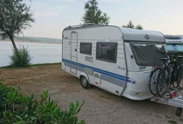 Caravan Hobby  Hobby De Luxe 400 mit 100 Km/h Zulassung in Mainz huren van particulier