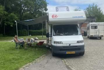 Alkoof Fiat ducato  Campi in gemeente Groningen huren van particulier