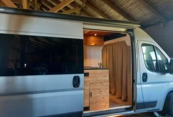 Buscamper Fiat  Aggiewaggie 2.0 in gemeente Groningen huren van particulier