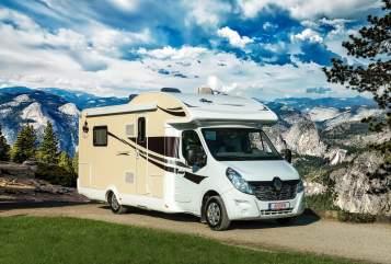 Halfintegraal Ahorn HeidjerMobil in Bispingen huren van particulier