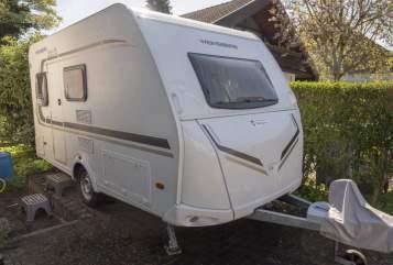 Caravan Weinsberg Caraone 390QD in Reinheim huren van particulier