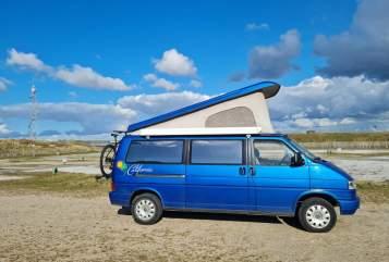 Kampeerbus Volkswagen California Camp in Bergschenhoek huren van particulier