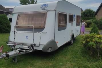 Caravan Knaus Klausi in Leopoldshöhe huren van particulier