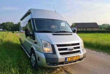 Buscamper Ford  Silver in Amsterdam huren van particulier