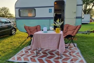 Caravan Knaus Trixie in Hardenberg huren van particulier