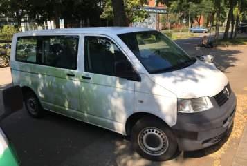 Kampeerbus Volkswagen Bester Bulli in Lüneburg huren van particulier