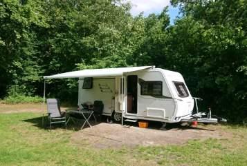 Caravan Hymer Eriba Toms Wowa in Jülich huren van particulier