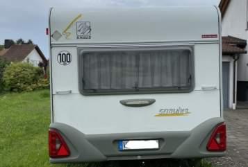 Caravan Knaus  Thosy in Welzheim huren van particulier