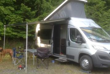 Buscamper Pössl Freiheit in Reken huren van particulier
