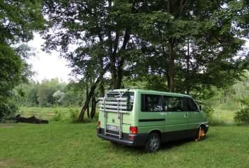 Kampeerbus VW Trecker in Göttingen huren van particulier