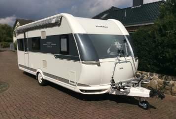Caravan Hobby 540 kmfe Wohni in Nienborstel huren van particulier