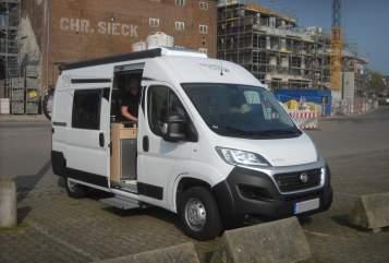 Buscamper Fiat Ducato Floki in Ascheberg huren van particulier