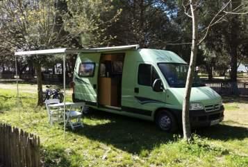 Buscamper Citroen Kastenwagen (Pössl-Ausbau) Lindi in Freiburg im Breisgau huren van particulier