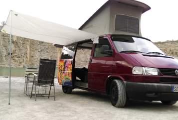 Kampeerbus VW red-bus2 in Anröchte huren van particulier