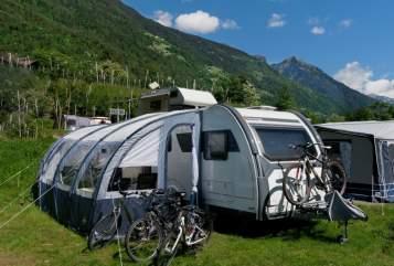 """Caravan Sterckeman """"Unser mobiles Strandhaus"""" in Leverkusen huren van particulier"""