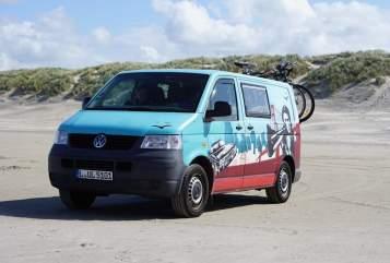 Kampeerbus Volkswagen  Pitti To Go in Markkleeberg huren van particulier