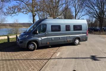 Halfintegraal Fiat Campingflitzer in Bonn huren van particulier