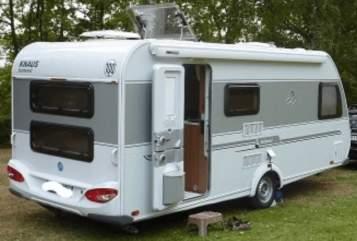 Caravan Knaus Familywagon in Mosbach huren van particulier