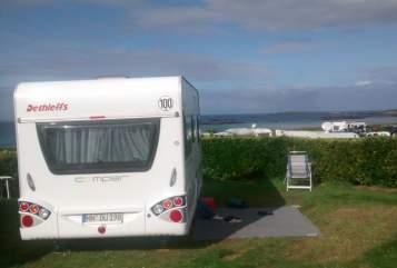 Caravan Dethleffs Unser Ferienhaus in Wolfertschwenden huren van particulier