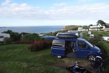 Kampeerbus Volkswagen Blue Marlin in Bad Doberan huren van particulier