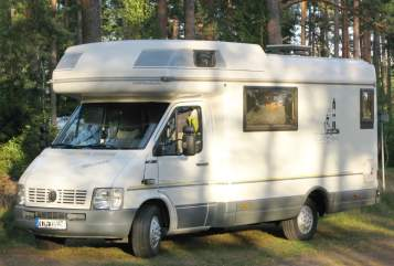 Alkoof VW Karmann Missouri in Ratekau huren van particulier