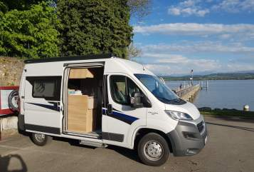 Buscamper Knaus  Nomade mit Alarmanlage und Solar in Heidelberg huren van particulier