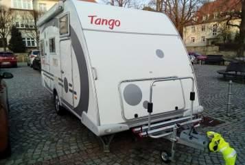 Caravan Knaus Tango 100 km/h  in Dresden huren van particulier