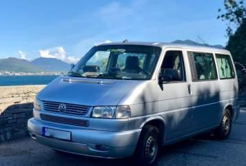 Kampeerbus Volkswagen AirBulli in Ingolstadt huren van particulier