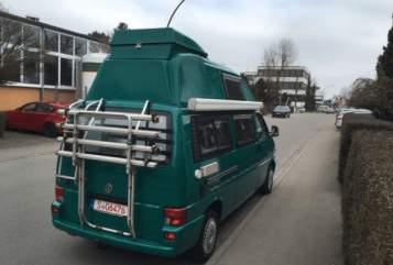 Kampeerbus Volkswagen T4 Campi in Aichwald huren van particulier