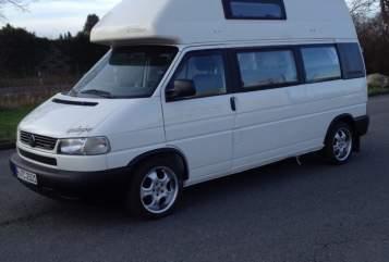 Kampeerbus Volkswagen Calli Ex in Barsinghausen huren van particulier