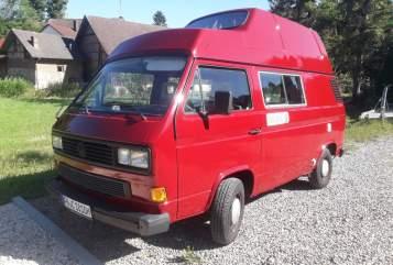 Kampeerbus VW Anna in Überlingen huren van particulier