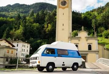 Kampeerbus Volkswagen Beny in Überlingen huren van particulier