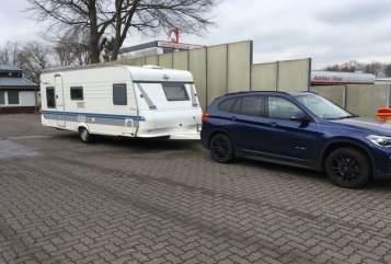 Caravan Hobby Kinderwowa in Heikendorf huren van particulier
