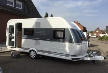 Caravan Hobby Hobby De Luxe Edition 490 KMF in Dülmen huren van particulier
