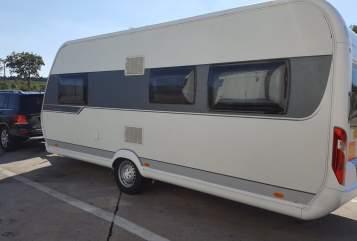 Caravan Hobby Kuschelkiste in Roth huren van particulier