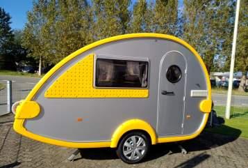 Caravan Tabbert Tabby in Aukrug huren van particulier