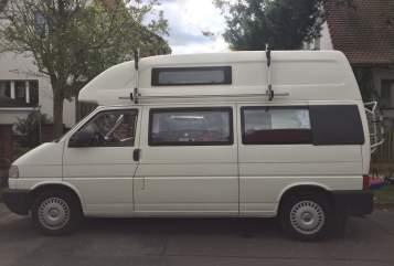 Kampeerbus Volkswagen VW California Exclusive Bulli Sari in Potsdam huren van particulier