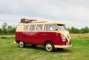 Kampeerbus Volkswagen Bus Florida in Drachten huren van particulier
