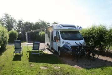 Halfintegraal Roller Team  Mike´S Camper  in Bondorf huren van particulier