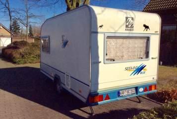 Caravan Knaus Blue Wave in Hall in Tirol huren van particulier