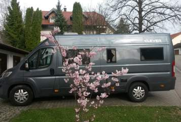 Buscamper Clever  Marathon-Runner in Heusenstamm huren van particulier