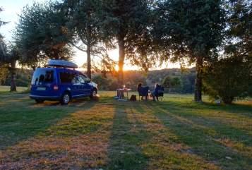 Overige VW Caddy Camper in Mannheim huren van particulier