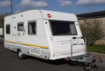 Caravan Bürstner Bürstner Wohnwagen in Dülmen huren van particulier