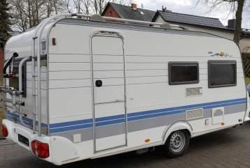 Caravan Hobby Hobby 440 in Britz huren van particulier