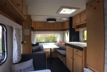 Caravan Knaus Beule500 in Hamburg huren van particulier