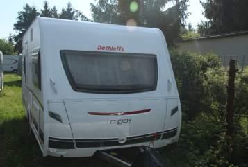 Caravan Dethleffs Leonie in Schwetzingen huren van particulier