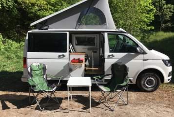 Kampeerbus Volkswagen Easy Camper in Nentershausen huren van particulier
