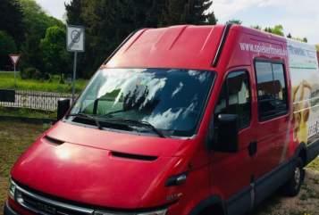Buscamper Iveco Winnis Camper in Schwabmünchen huren van particulier
